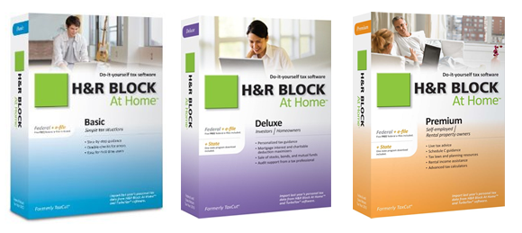 h&r block home & business 2013